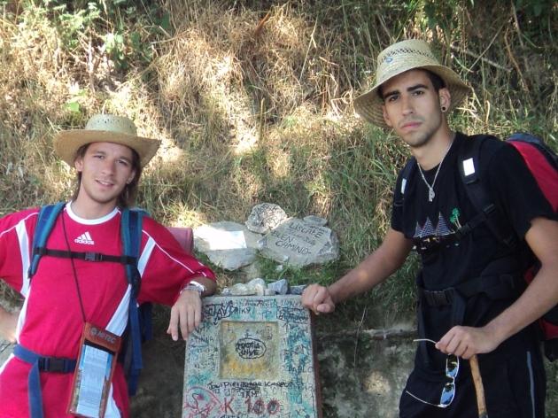 A 100 kilómetros de Santiago