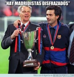 Madridista disfrazado