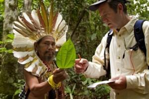 Chamán en el Amazonas