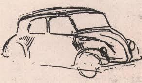 Diseño del escarabajo de Hitler