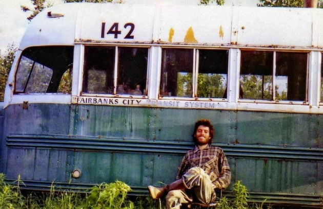 Christopher McCandless bus