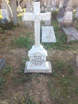 tumba de mi bisabuelo