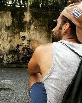 arte callejero en penang