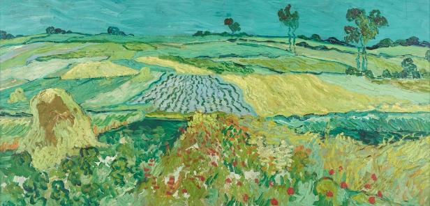 Campos de trigo cerca de Auvers